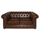Premier Housewares Two Seater Chesterfield Sofa, Antique