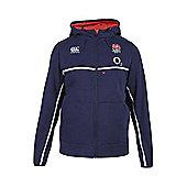 Canterbury England Rugby RFU RWC Training Full Zip Hoody 2015 - Navy
