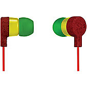 House of Marley Mystic In Ear Headphones (Rasta)
