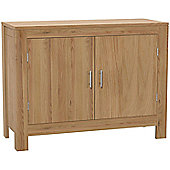 Kelburn Furniture Milano 2 Door Sideboard in Clear Satin Lacquer
