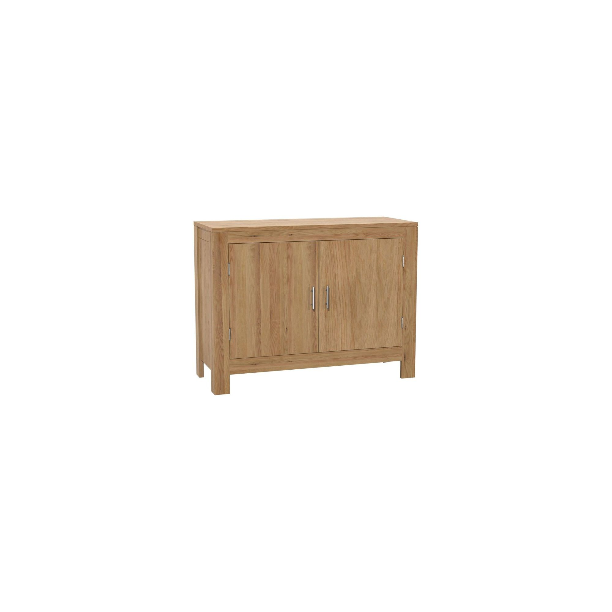 Kelburn Furniture Milano 2 Door Sideboard in Clear Satin Lacquer at Tesco Direct