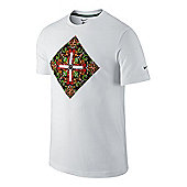 2014-15 Portugal Nike Core Plus T-Shirt (White) - White