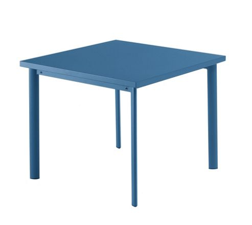 emu Star Square Table - Blue