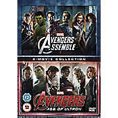 Avengers Age Of Ultron/Avengers Assemble DVD