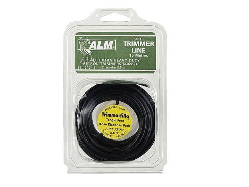 Alm Sl019 Trim Line 3.5mm X 15M Black