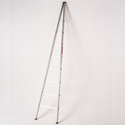 2.4m Single Section Aluminium Window Cleaners Ladder