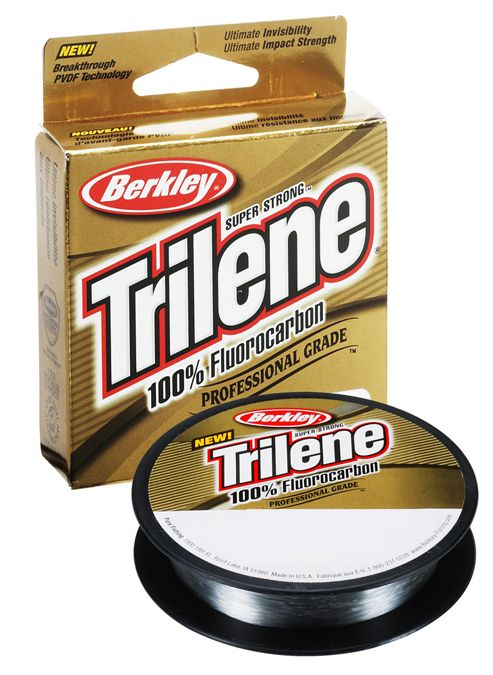Berkley Trilene TFFS15-15 Fluorocarbon Clear Line 15lb, 0.38mm, 200yds
