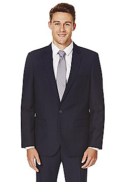 F&F Navy Tailored Fit Suit Jacket - Navy