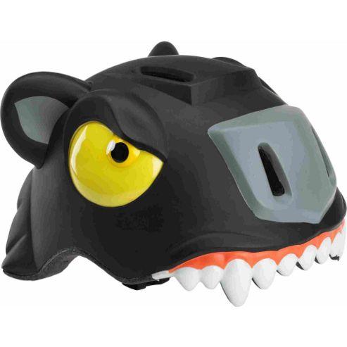 Crazy Stuff Childrens Helmet: Black Panther S/M.