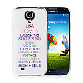 Personalised Top Ten Loves Samsung S4 Case