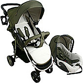 My Babiie Katie Piper MB30+ Believe Travel System (Olive)