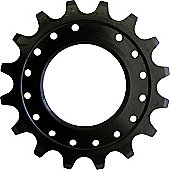 Acor 1/8 Single Sprocket: Black 16T.