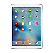 "Apple iPad Pro 12.9"" with Wi-Fi + 4G LTE, 128GB - Silver (Apple Sim)"