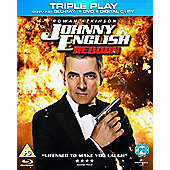 Johnny English Reborn: Triple Play (Blu-rau, DVD & UV)