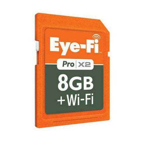 Eye-Fi Wireless Pro 8GB SDHC Card and Wi-Fi
