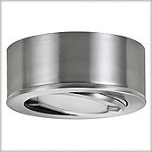 Paulmann Micro Line Furniture Swiveling Downlight in Brushed Iron