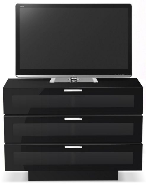 STUK 4001 BL - 3 TV Stand For Up To 50 inch TVs