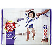 Tesco Loves Baby Super Fit Size 4+ Maxi+ Econ Pk 38