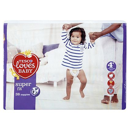 2 for £8 on selected Tesco Loves Baby Nappies