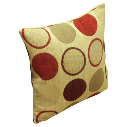 Dreams N Drapes Curtina Cortez Cushion - Red - No