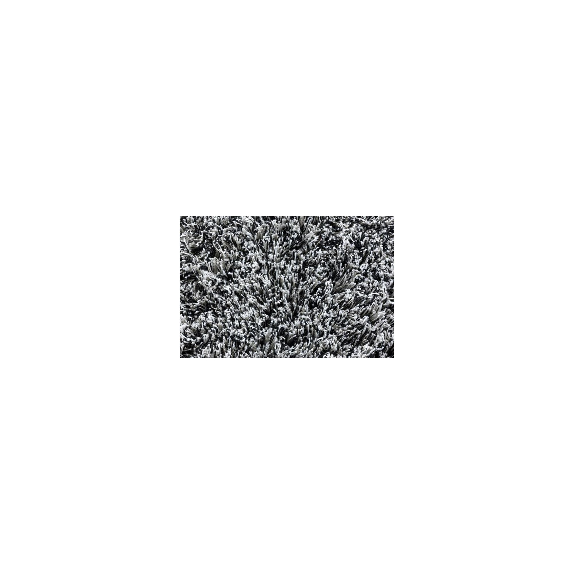 Linie Design Timeless Black Shag Rug - 200cm x 140cm at Tesco Direct