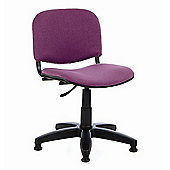 Energo Tamperproof Swivel Study Chair - Purple