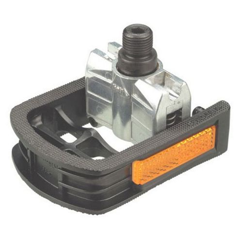 Wellgo FP-7 Folding Pedals in Silver/Black