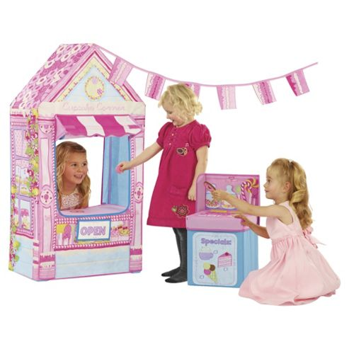 Love My Street Cupcake Corner Sweetshop Playhouse Tent with Till