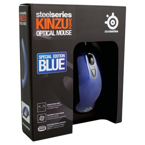 SteelSeries Kinzu v2 Gaming Mouse - Blue