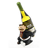 Comic - Comedy Character Fat Waiter Wine Bottle Holder