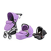 Baby Elegance Beep Twist Travel System - Purple