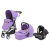 Baby Elegance Beep Twist Travel System, Purple