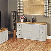 Baumhaus Chadwick Small Sideboard With Six Drawers