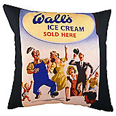 Walls Ice Cream Sold Here Cushion