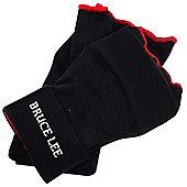Bruce Lee Easy Fit Boxing Inner Gloves Gel Padded - Black