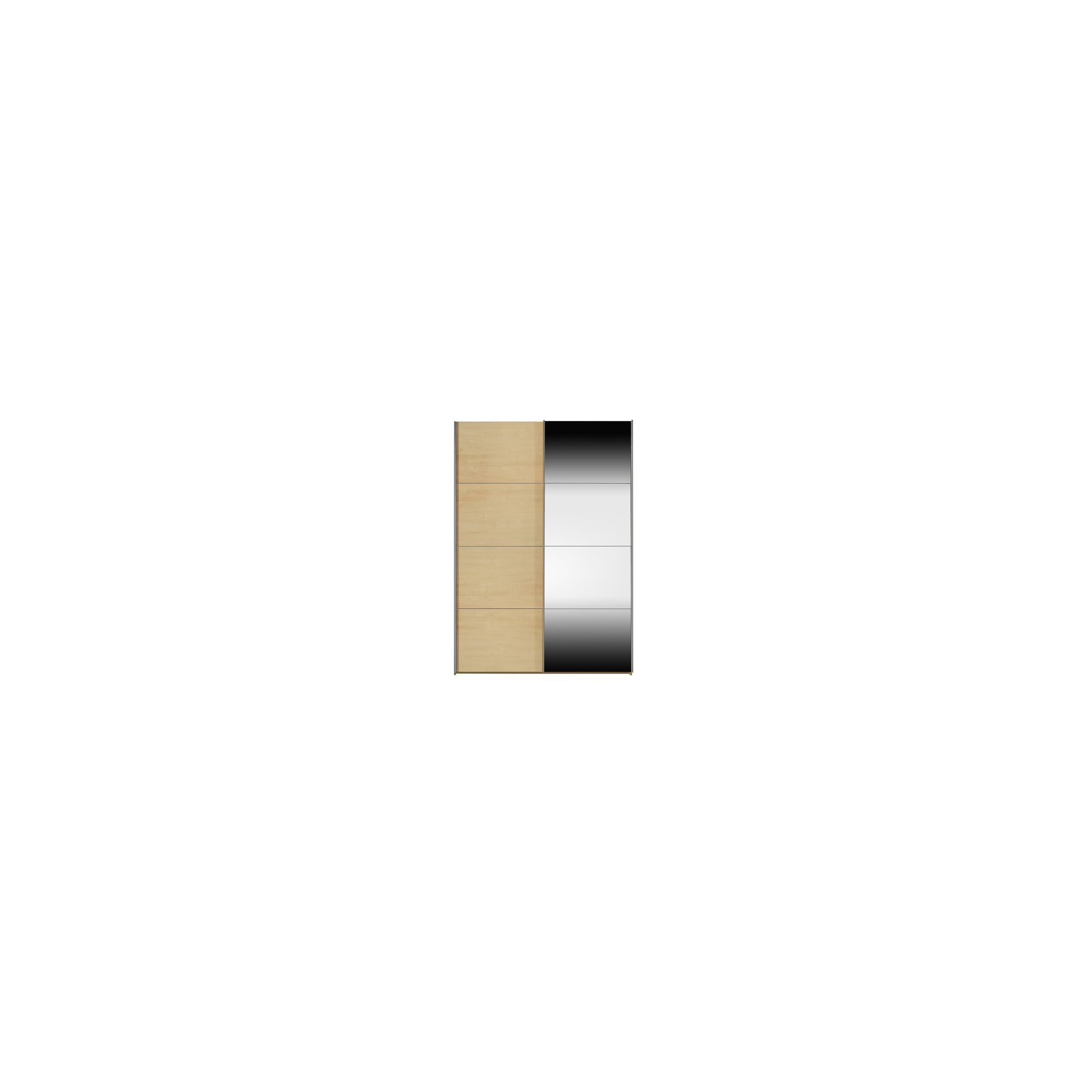 Arte-M Kick Sliding Door Wardrobe in Maple - 202cm at Tescos Direct