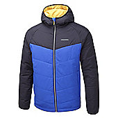 Craghoppers Mens Compresslite Hooded Packaway Climaplus Insulated Jacket - Blue