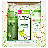 Simple Gift of Goodness Cosmetics Bag Gift Pack