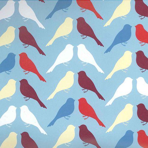 Gift Wrap - Birds