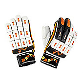 Woodworm Cricket Pioneer Batting Gloves - Youths Left Hand