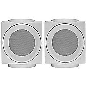 WHARFEDALE MODUS CUBE SURROUND SPEAKERS WHITE (PAIR)