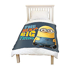 Minions 'Next Big Thing' Fleece Panel Blanket