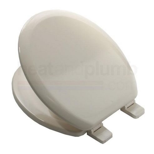 Buy Bemis 5000 SOFT CREAM Coloured Moulded Wood Toilet Seat And Cover With Ad