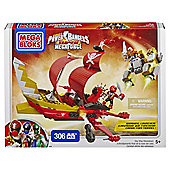 Megabloks Power Rangers Super Mega Force Skyship Showdown