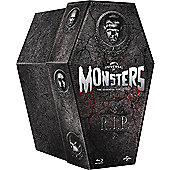 The Classic Monster Coffin Collection (Blu-ray Boxset)