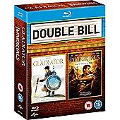 Gladiator/ Immortals (Blu-ray Boxset)