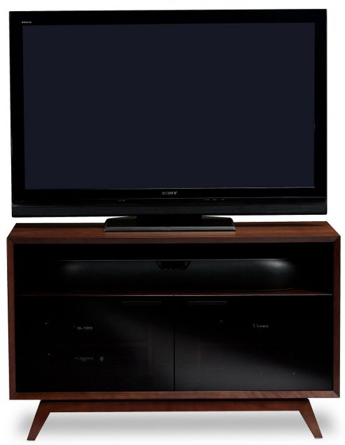 BDI Luxury Chocolate Walnut TV Cabinet