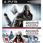 Assassins Creed Brotherhood And Revelations Double Pack