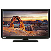 Toshiba 24D1333B2 24 Inch HD Ready 720p LED TV / DVD Combi With Freeview