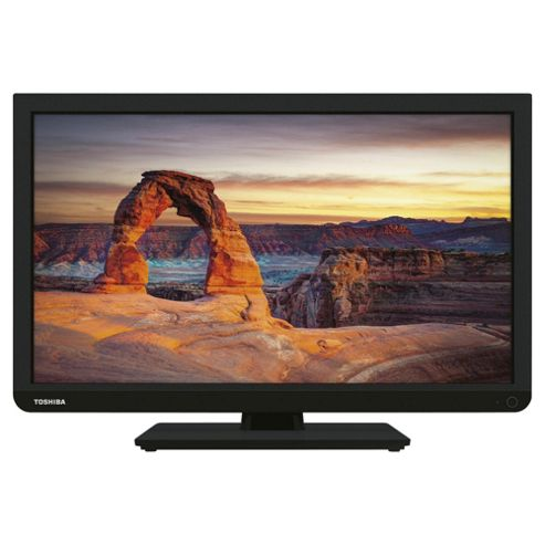 Toshiba 24D1433DB 24 Inch HD Ready 720p LED TV / DVD Combi with Freeview